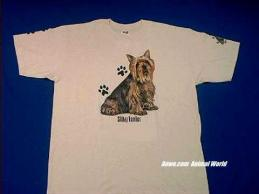 silky terrier t shirt