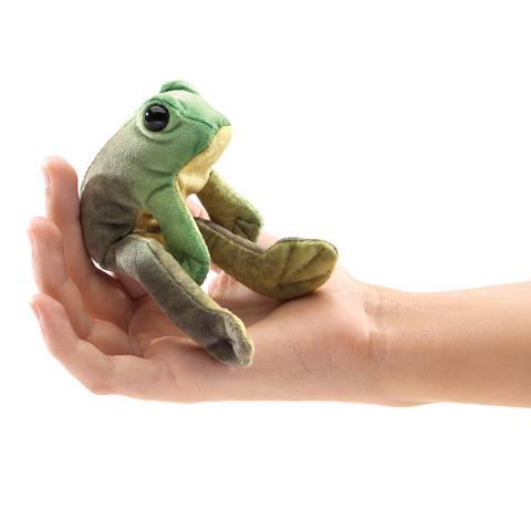 Sitting Frog Finger Puppet