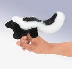 skunk finger puppet folkmanis