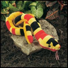 coral snake stuffed animal plush