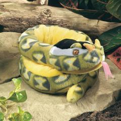 rhino viper snake plush stuffed animal