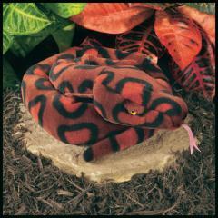 rainbow boa snake stuffed animal plush