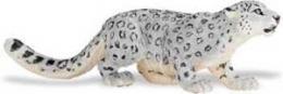 snow leopard toy miniature replica