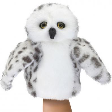Snowy Owl Puppet Small
