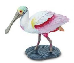 spoonbill toy bird miniature replica anwo