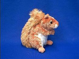 red squirrel plush stuffed