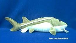 sturgeon plush stuffed animal toy fish
