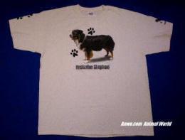 tri color australian shepherd t shirt