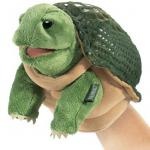 Turtle Puppet Small Plush
