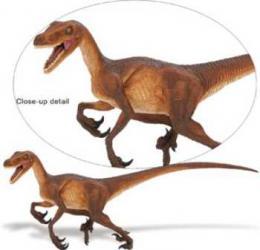 velociraptor toy dinosaur safari