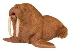 walrus toy miniature