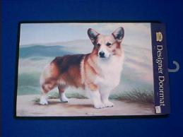 welsh corgi doormat welcome mat