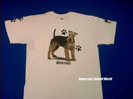 welsh terrier t shirt usa