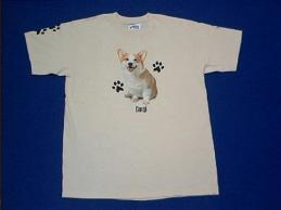 welsh corgi t shirt