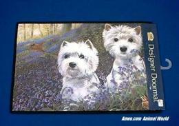 west highland white terrier doormat