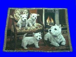 west highland terrier blanket