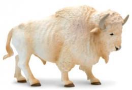 white buffalo toy miniature replica
