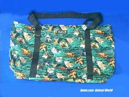wolf bear moose tote large