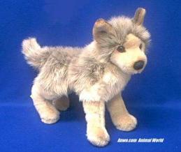 wolf plush stuffed animal tyson