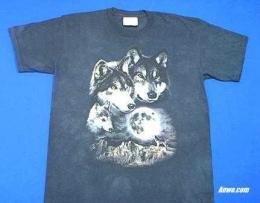 wolf shirt pair