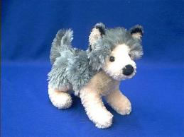 wolf stuffed animal plush douglas howl