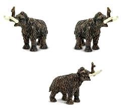 woolly mammoth toy mini good luck miniature