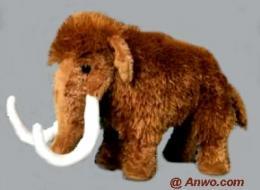 woolly mammoth plush stuffed animal
