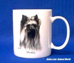 yorkshire terrier mug porcelain best of show