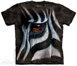zebra t shirt face profile anwo