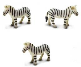 Zebra Toy Mini Good Luck Toy Miniature Anwo