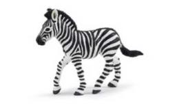 zebra toy miniature foal