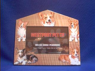 Welsh Corgi Picture Frame Usa At Animal World
