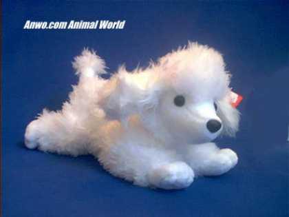 White Poodle Plush Stuffed Animal Ooh La La At Anwo Com Animal World