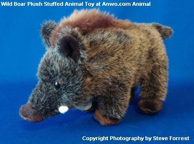 Wild Boar Pig Plush Stuffed Animal Toy At Anwo Animal World