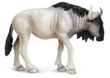 Wildebeest Toy Miniature Replica Anwo Animal World 174