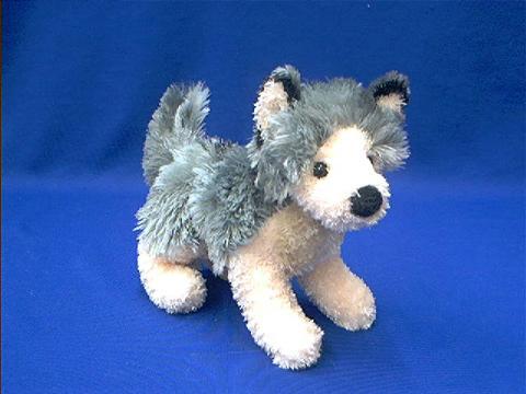 Wolf Stuffed Animal Plush Small Howl At Animal World