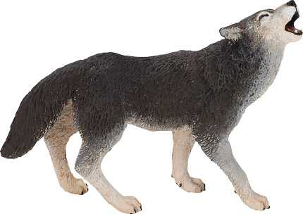 Wolf Toy Miniature Replica At Animal World 174 At Anwo Com