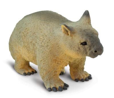 Wombat Toy Miniature Replica At Anwo Com Animal World
