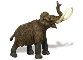 Woolly Mammoth Toy Figurine At Animal World 174
